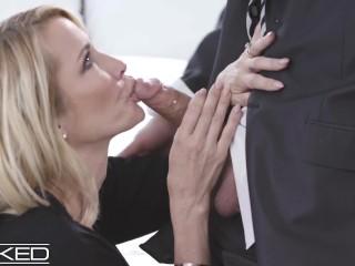 Jessica Drake's Passionate Blowjob - Wicked|1::Big Tits,4::Blowjob,20::MILF,26::Blonde,38::HD,60::Rough