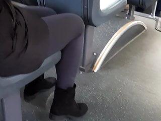 Mature in leggings
