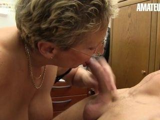 'XXXOmas - Big Ass German Granny Hardcore Office Fuck With Hot Stud - AMATEUREURO'