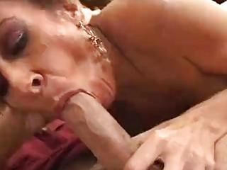 Hung guy makes Mikela Kennedy scream in joy