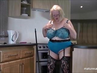 Full blue bra