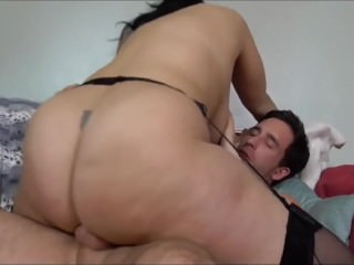 Obese breasted british housewife gets fucked