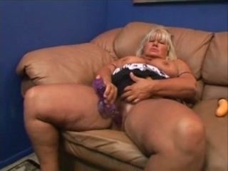 BBW Granny Gets Her Hairy Pussy Fucked
