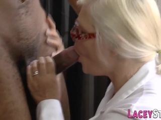 Mature british doctor gets pounded