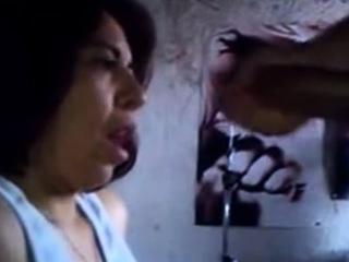 girl's friend swallow my cum