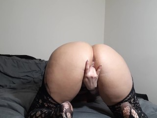 Quarantined, So I Fucked My Pussy with an 18 Inch Dildo