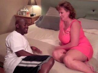 Chubby MILF fucked by BBC 1