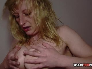 MILF works out and masturbates passionately afterward