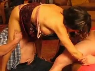 older woman making love with her husband and friends