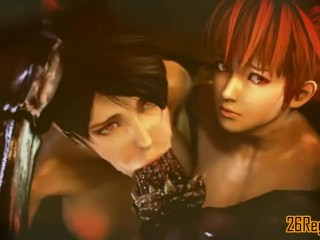 Momiji and Kasumi point of view sucky-sucky
