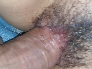 My cock inside my wife's vagina