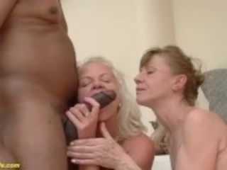 """""""71 and 82 years old grannies interracial anal banged"""""""