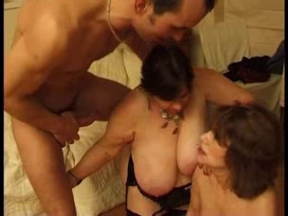 two Hottest French Matures , wild sex with juvenile guys