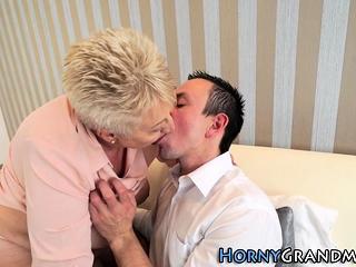 Grandmothers brashness cummed