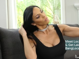 Cougar Veronica Rayne gets a sensuous rubdown having hookup & getting facialled