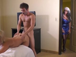 Sallyd'angelo is a dirty minded aunty who would never say no to a casual threesome