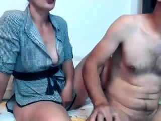Cfnm women give a boy a hand-job at unexperienced sexparty