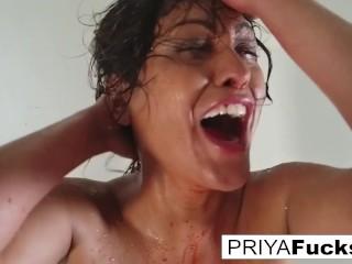 'Halloween tease with MILF Priya Rai!'