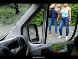1 Exhibicionista y 2 Mujeres spycam en la Calle