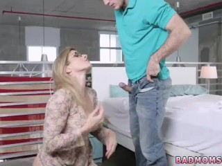 Czech cougar gang-bang hard-core Rocking My Stepmoms