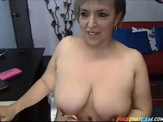 Mature Latina With ginormous white bumpers
