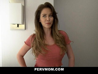 Cheating Stepmom With Big Tits Deepthroats Her Stepson