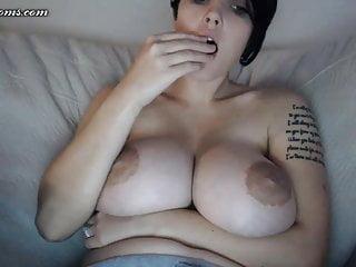 Pregnant Busty Wife Masturbation on Live Cam