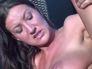 TuttiFrutti - Hot hairy Christina Nurse Outdoor