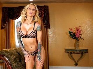 Pamper yourself into desire with Sarah Jessie slips down her underwear