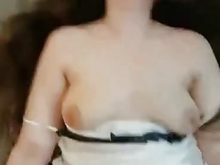 Point of view flick of a trophy arab wifey getting pumped goo