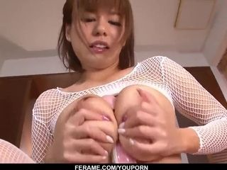 Airu Oshima gets busy with cock and sucks until the last drop - More at Slurpjp com