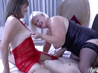 AgedLove Lacey & Pandora and horny cock