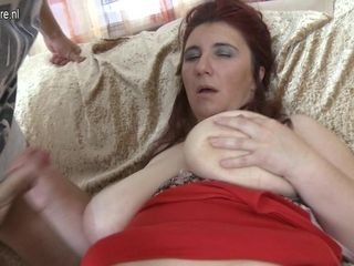 Big Titted Housewife Fucked By Her Toyboy - MatureNL