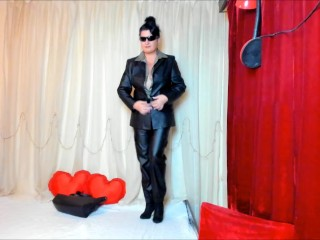 Austere Fashion Series - Video 1 - Lady Taking Off Austere Clothes