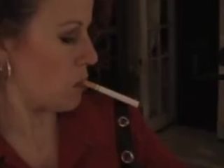 The sexy southern smoker Vivian blowing hot smoke