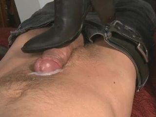 'mistress-T like boots job'