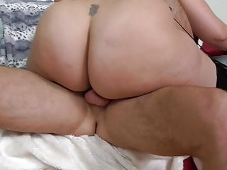 Wondrous  unshaved plus-size mommy takes hefty pipe