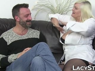 Medic Lacey Starr bum-fucked by legendary patient Pascal milky