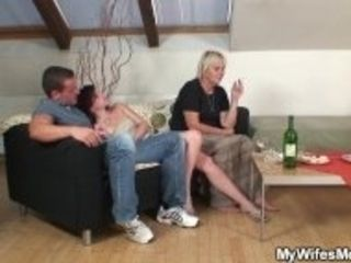 """""""Party leads to old mother in law taboo fucking"""""""
