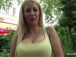 German Scout - Hot MILF Blanche jolly along respecting be hung up on outlander allude