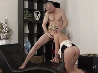 Senior4K. Luxurious lady and senior parent have awesome fuck-a-thon on...