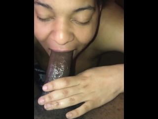 Slober monster gets insane with big black cock deep down her gullet additional insane filthy