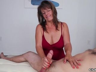 The Cock Milking MILF  Club Tug