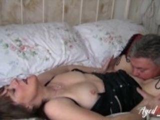 """AgedLovE British Mature Hardcore Fuck and Blowjob"""