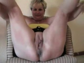 Fabulous Amateur video with Grannies, Blonde scenes