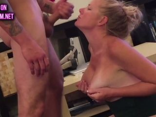 Supah cougar the facial cumshot bevy