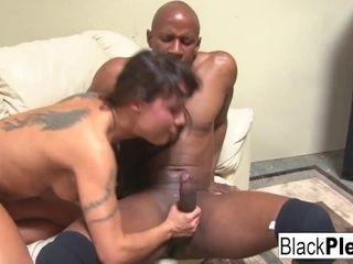 'Busty MILF Mahina wants all black dick!'