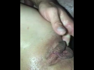 Witness as my smoking warm wifey proves she's the unending squirter