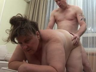 Granny Big Jana - Fuck Aftet Lunch