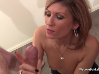 Nifty MILF pule frightened to with respect to facial cum missing strangers